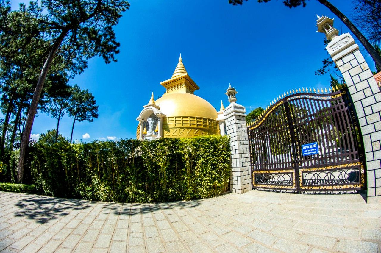 монастырь вьетнам