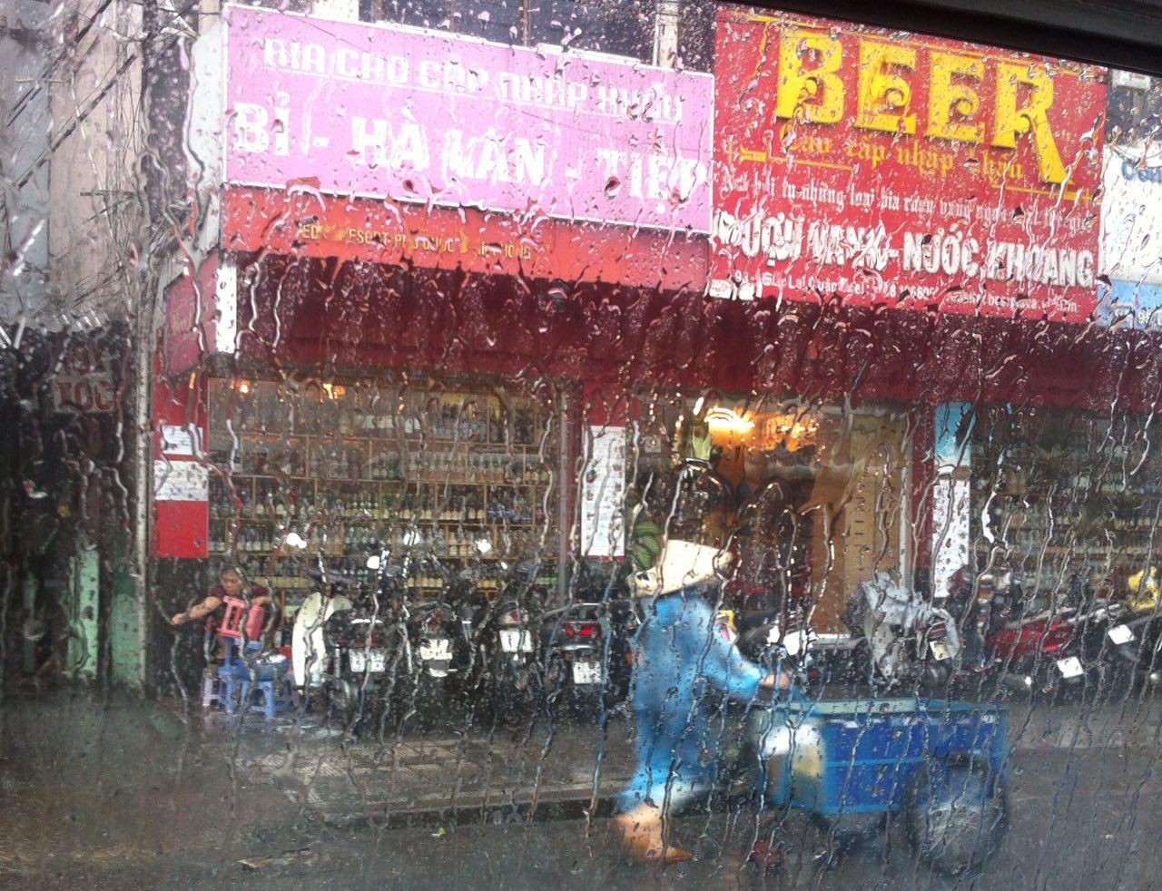 дождь вьетнам