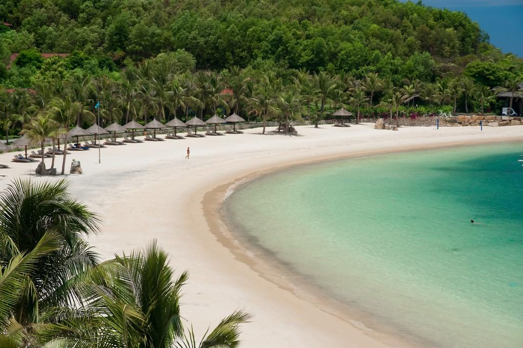 пляж остров