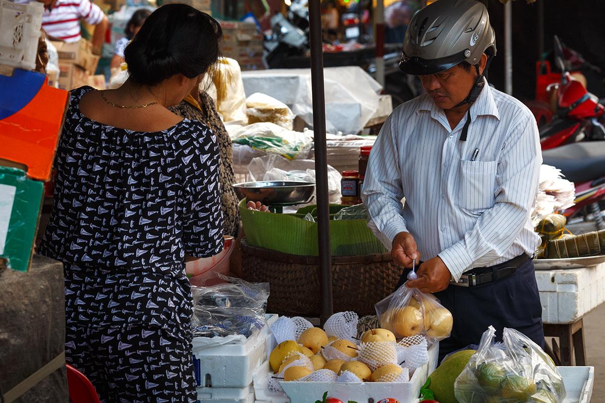 рынок во вьетнаме
