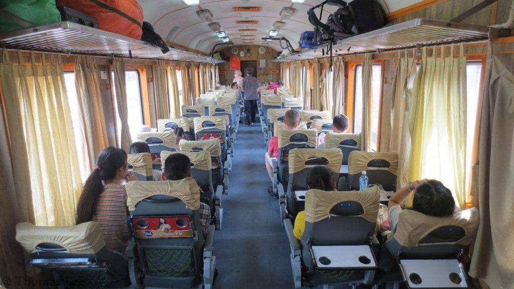 вагоны поезда вьетнам