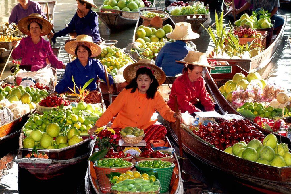 плавучий рынок меконг
