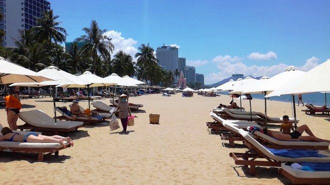 Городской пляж в Нячанге Nha Trang