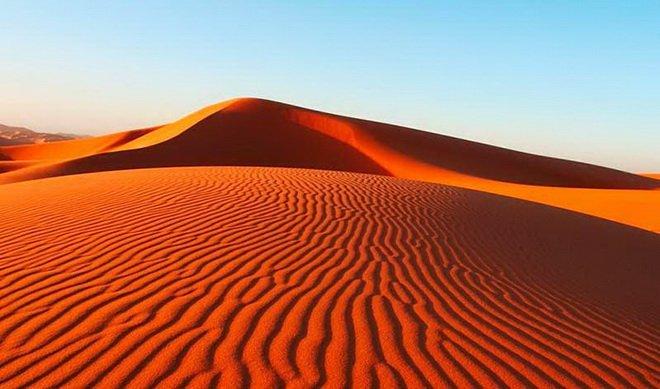 Красные дюны